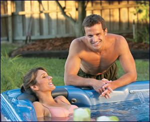 Gulf Coast Hot Tub Backyard fun